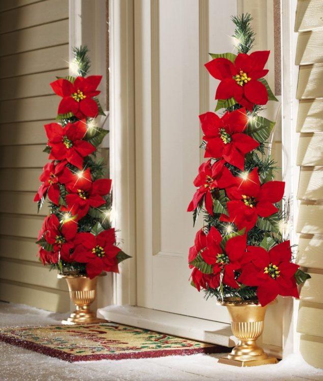 15 Sensacional Decoraci 243 N De Puerta De Entrada Para Navidad