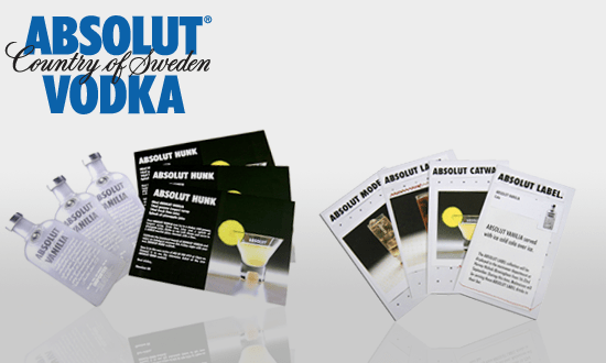 Absolut through the line equity