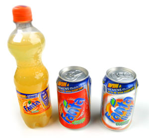 Fanta packaging