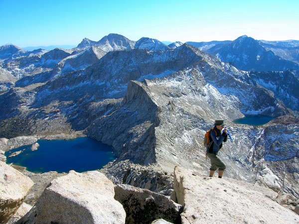 Summit of Sawtooth Peak