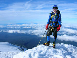 Me on the summit of Mount Adams