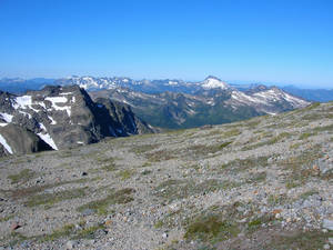 Tundra from ridge crest