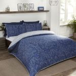 Heritage Damask Navy Double Duvet Set
