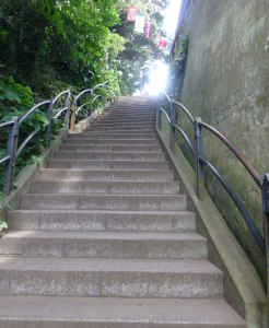 More stairs