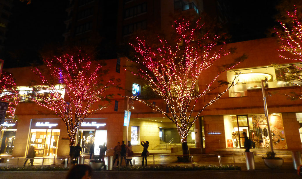 Roppongi Tree Lights