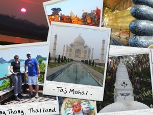 February 2015 Trip Collage