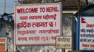 Crossing the Border to Nepal