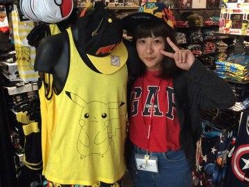Cool Pikachu shirt at Hot Topic!