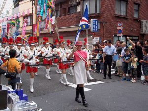 The powerful and impressive Tokyo Metropolitan Police Department Women's Drum Corp