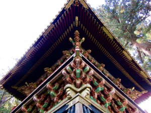 The architecture and decoration of Tōshō-gū Shrine is one of the reasons UNESCO added it to the World Heritage list in 1999