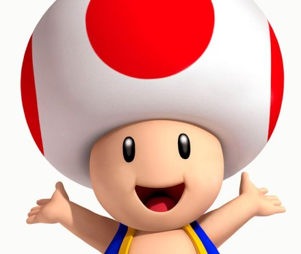 Toad from Super Mario Brothers