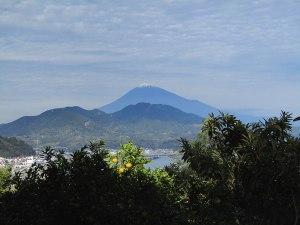 Mt. Fuji from Satta Pass