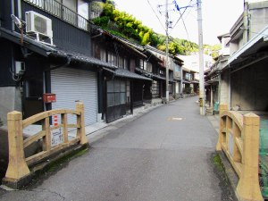 The old streets of Yui