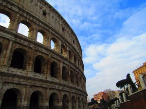 Views of the Colosseum