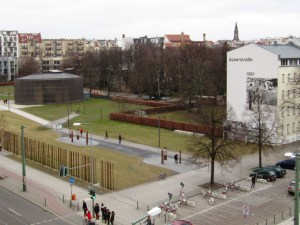 The section of the Berlin Wall at Ackerstraße is the last remaining original section and is part of the Berlin Wall Memorial. The first sections of the wall were built here and, in a symbolic gesture, were among the first to be torn down.