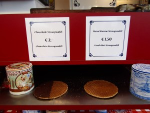 Stroopwafle at the Albert Cuyp Market.