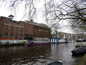 The Heineken Brewery makes its home in Amsterdam. The beer itself isn't any better here than it is in the US...