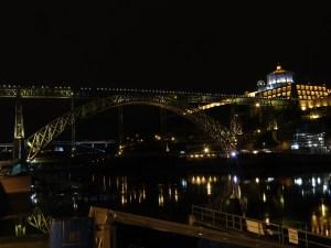 The Ponte Luis I Bridge, designed by a partner of Gustave Eiffel, and Mosteiro de Serra do Pilar.