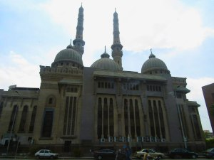 A mosque in Cairo
