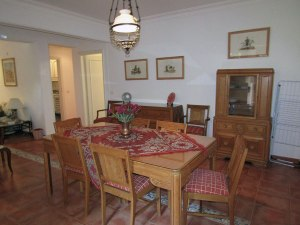 The dining room in House 3