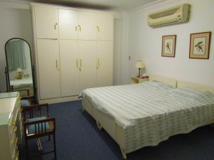 The master bedroom in House 3