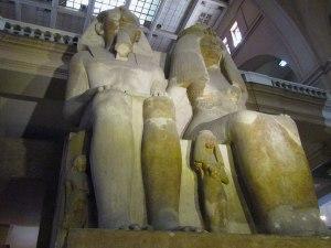 Amenhotep III and Queen Tiye.