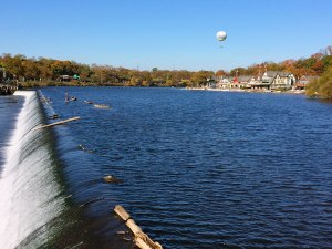 Boathouse Row lines the shores of Fairmount Dam on the Schuylkill River. The boathouses are home to 15 rowing clubs and is considered to be the home of rowing in the U.S.