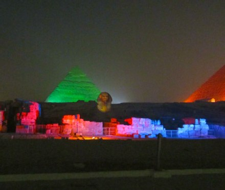 Great Pyramids Sound and Light Show