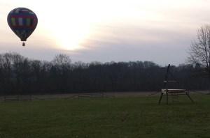 BalloonatSunset