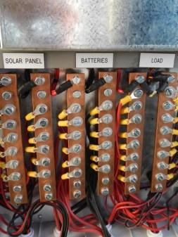 Casca solar controller Buzzbar connections