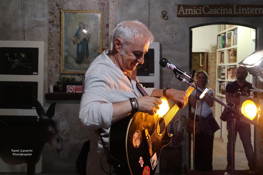 Davide Van De Sfroos in Linterno (le Immagini di Paolo Zandrini)