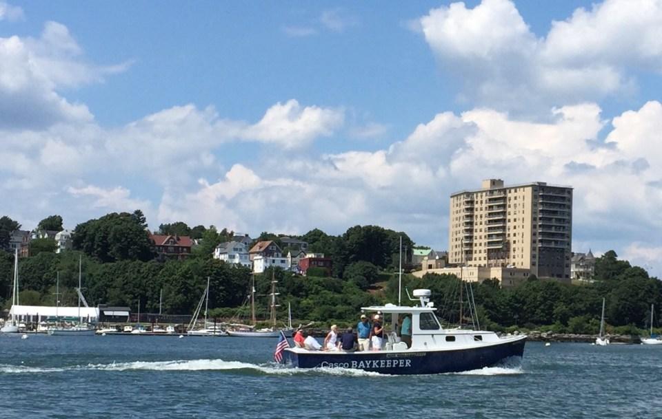 Casco Baykeeper Boat trip