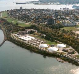 Sewage Treatment Plant courtesy of Portland Water District