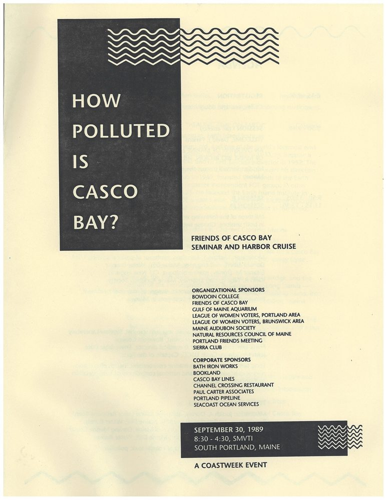 How Polluted Is Casco Bay?
