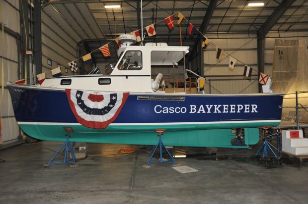 New Baykeeper research boat