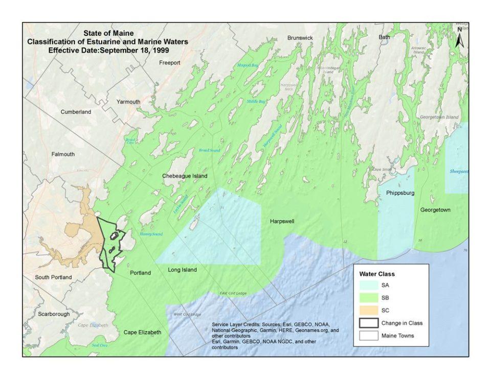 Reclassifying Bay waters