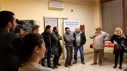 picoteo confraternizacion 2013 avv lanuza casco viejo