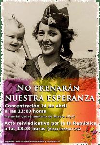 Día de la Republica, Zaragoza