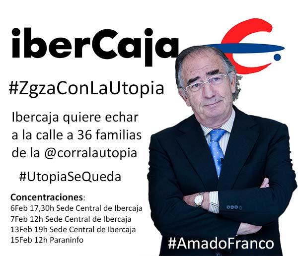 @ibercaja quiere echar a la calle a 36 familias de @corralautopia #ZgzaConLaUtopia