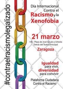 Día contra el racismo en Zaragoza