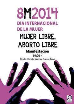 8M. Mujer libre, aborto libre.