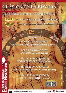 Jueves de música clásica en la Bóveda del Albergue.