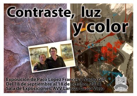 Contraste, luz y color: Exposición de Paco Lopez Francés y Nacho Gili