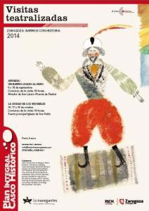 Visitas teatralizadas por el casco histórico, septiembre y octubre 2014
