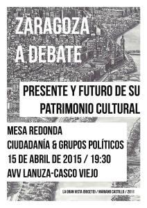 Zaragoza a debate: Presente y futuro de su patrimonio cultural