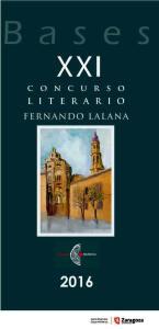 Concurso literario Fernando Lalana 2016