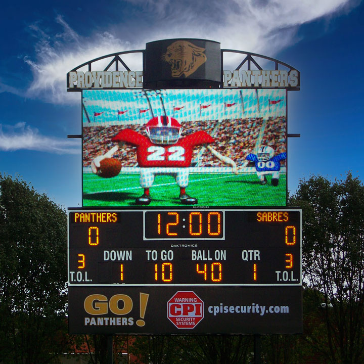 Providence High School Scoreboard