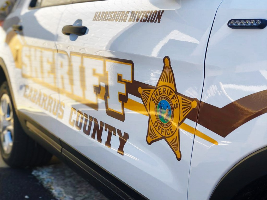 Cabarrus County Sheriff's Department cruiser.