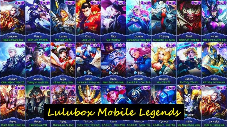 Lulubox ML Unlock Semua Skin Mobile Legends Gratis 2020