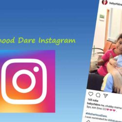 Challenge Motherhood Dare Instagram